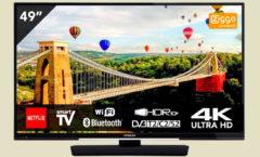 Hitachi 49 UHD DLED Smart TV