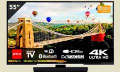 Hitachi UHD Smart TV 55
